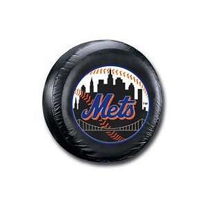 New York Mets MLB Black Spare Tire Cover