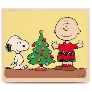 Merry Christmas Tree (Peanuts)   Rubber Stamps Arts