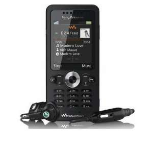 New Sony ericsson W302 Midnight Black Unlocked GSM Phone