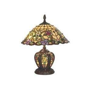 Dale Tiffany TT60739 Lakeport 2 Light Table Lamp