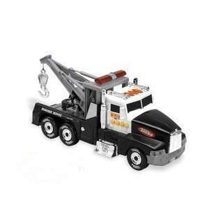 Tonka Lights & Sound Tow Truck   Black Toys & Games
