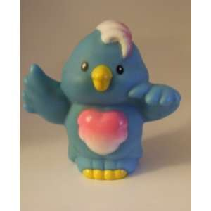 Little People Blue Bird (Pink & White Chest Feathers) 2001