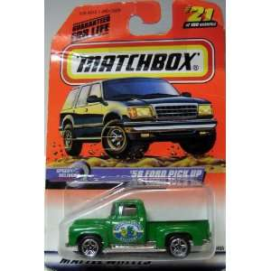 MATCHBOX DIE CAST VEHICLE 1956 FORD PICKUP Toys & Games