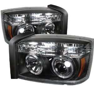 Dodge Dakota 05 06 07 Halo LED Projector Headlights
