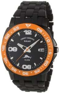 Tommy Bahama Relax Mens RLX3012 Sport Analog Black Dial