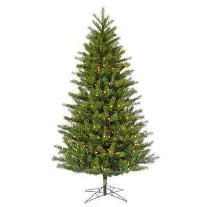 Pine 350 Warm White Italian LED Lights Christmas Tree (G113366LED