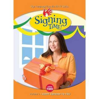 Signing Time Series 2 Vol.2   Happy Birthday to You