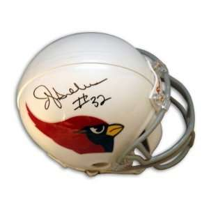 Autographed/Hand Signed Arizona Cardinals Mini Helmet