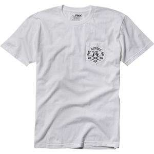 Fox Racing FRMC T Shirt   Large/White Automotive