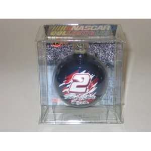 RUSTY WALLACE #2 (2 5/8 In Diameter) Multi Color CHRISTMAS ORNAMENT
