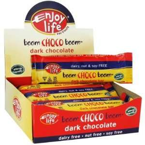 Enjoy Life  Boom Choco Boom, Dark Chocolate Bar, 1.4oz (12