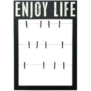 Primitives By Kathy Box Sign Frame, Enjoy Life