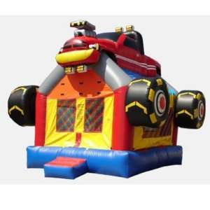 Kidwise Monster Truck Bounce House (Commercial Grade