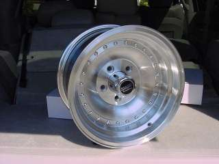 AMERICAN RACING OUTLAW 6 LUG CHEVY FORD WHEELS 15X10 MOPAR DODGE