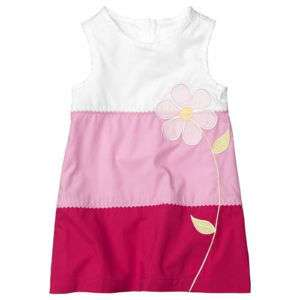 NIP GAP Baby Girl Flower Dresses Size5