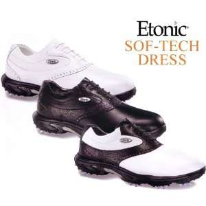 Etonic Sof Tech Dress Golf Shoes (ColorWhite/Black   SFT20 2,Size8.5