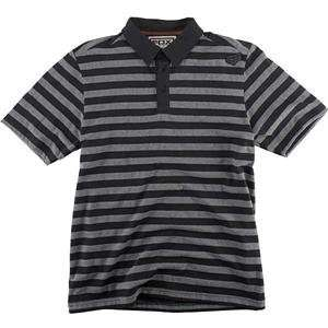 Fox Racing Hattica Polo   Large/Black Automotive