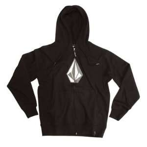 Volcom Original Stone Youth Zip Up Hooded Sweatshirt Youth Large (Size