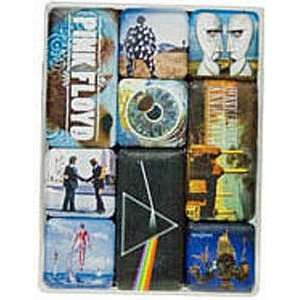 Pink Floyd box set of nine mini fridge magnets