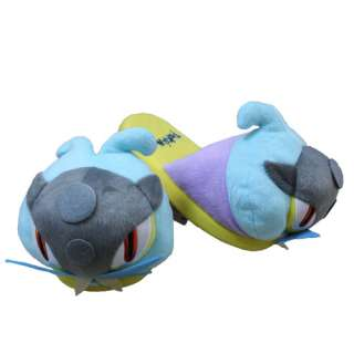Pokemon Raikou Soft Plush Stuffed Slipper one Pair