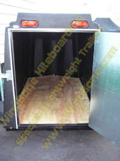 Roto Molded Enclosed Cargo Trailer Ultra Light Small